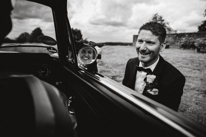 Ford Mustang Spiegelung Hochzeit